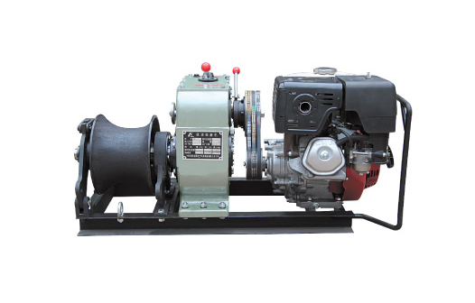 5 Ton Engine Driven Winch(belt driven)