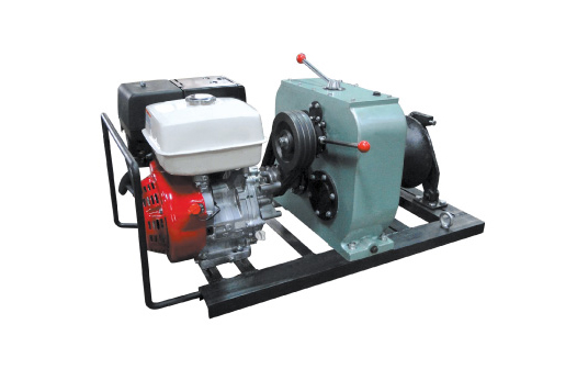 8 Ton Engine Driven Winch(belt driven)