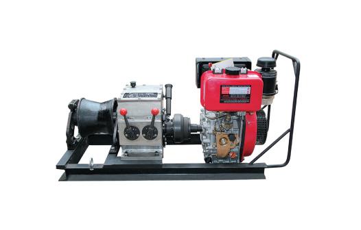 3 Ton Engine Speedy Winch(shaft driven)