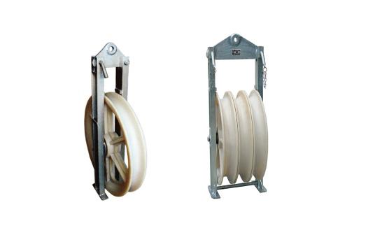660 Series Big Diameter Stringing pulleys