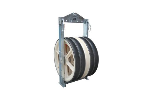 822 series big diameter stringing pulleys