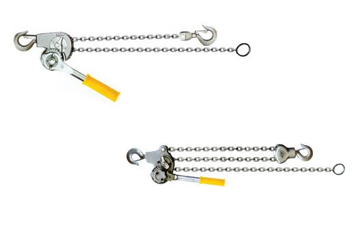 Magnesium alloy manual chain hoist